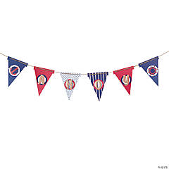 Nautical Pennant Banner Idea