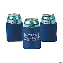 Nautical Personalized Can Coolers