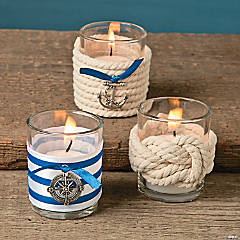 Nautical Votive Holder Décor Idea