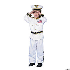 Navy Admiral Boy's Costume