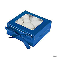 Navy Shadow Favor Boxes
