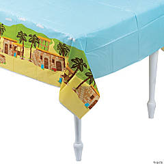 Nazareth Plastic Tablecloth