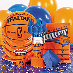 NBA® Charlotte Bobcats™ Party Supplies