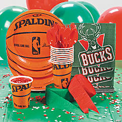 NBA® Milwaukee Bucks™ Party Supplies
