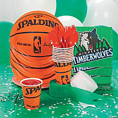 NBA® Minnesota Timberwolves™ Party Supplies