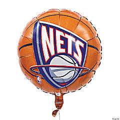 NBA® New Jersey Nets™ Mylar Balloon