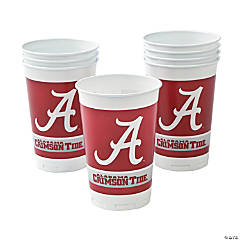 NCAA™ Alabama Plastic Cups
