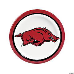 NCAA™ Arkansas Paper Dinner Plates