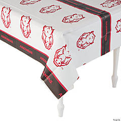 NCAA™ Arkansas Razorbacks Plastic Tablecloth