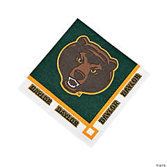 NCAA™ Baylor University® Beverage Napkins
