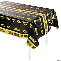 NCAA™ Iowa Hawkeyes Plastic Tablecloth