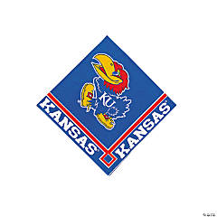 NCAA™ Kansas Beverage Napkins
