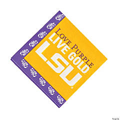 NCAA™ LSU Tigers® Luncheon Napkins