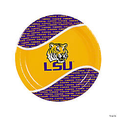 NCAA™ LSU Tigers® Party Paper Dinner Plates