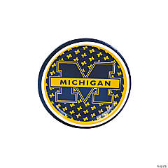NCAA™ Michigan Paper Dessert Plates