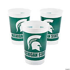 NCAA™ Michigan State Spartans Plastic Cups