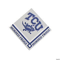 NCAA™ Texas Christian University Horned Frogs Beverage Napkins
