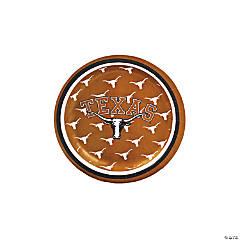 NCAA™ Texas Paper Dessert Plates