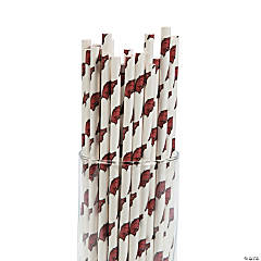 NCAA™ University of Arkansas® Paper Straws