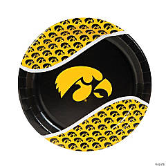 NCAA™ University Of Iowa Hawkeyes Paper Dinner Plates