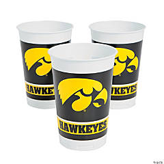 NCAA™ University Of Iowa Hawkeyes Plastic Cups