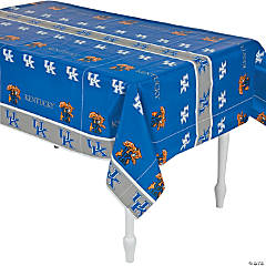 NCAA® University of Kentucky Plastic Tablecloth