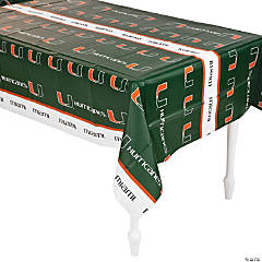 NCAA® University of Miami Tablecloth