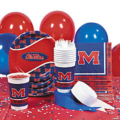 NCAA™ University of Mississippi Basic Party Pack