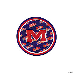 NCAA™ University of Mississippi Paper Dessert Plates