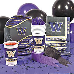 NCAA™ University of Washington Huskies® Party Supplies