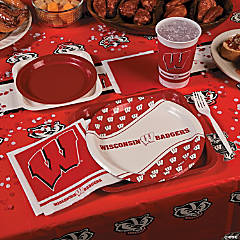 NCAA® University of Wisconsin Basic Party Pack