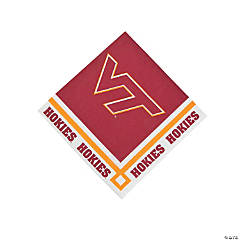 NCAA™ Virginia Tech Hokies Beverage Napkins