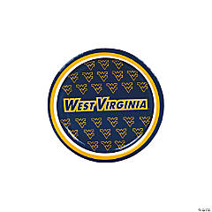 NCAA™ West Virginia Paper Dessert Plates