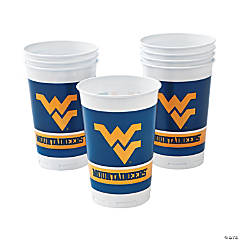 NCAA™ West Virginia Plastic Cups