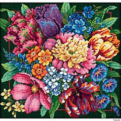 Needlepoint Kit -Floral Splendor