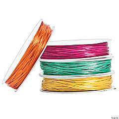 Neon Color Flat Stretchy Cording