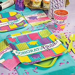 Neon Grad Party Supplies