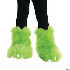 Neon Green Monster Boot Covers
