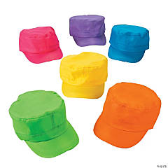 Neon Military Hats