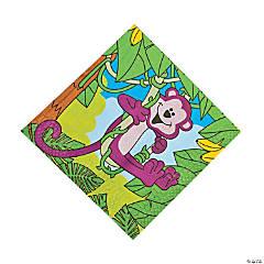 Neon Monkey Napkins