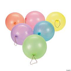 Neon Punch Ball Balloon Assortment