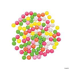 Neon Round Beads