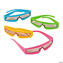 Neon Sleek Band Sunglasses