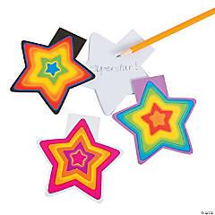 Neon Star Notepads