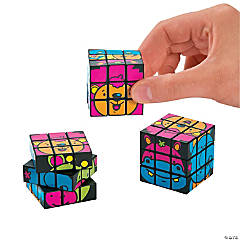 Neon Zoo Animal Magic Cubes