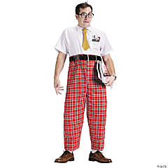 Nerd 50's Adult Men's Costume