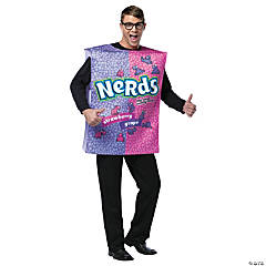 Nerds Adult Men's Costume