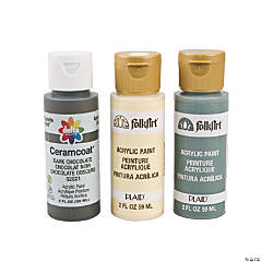 Neutral Acrylic Paint Set