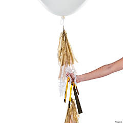 Neutral Color Balloon Tassel