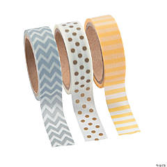 Neutral Washi Tape Set